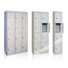 Металлические шкафы (локеры) для супермаркетов и магазинов. Камеры хранения.